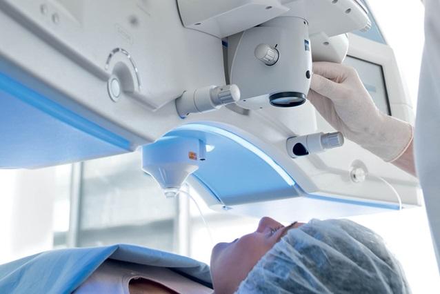 Обезболивание во время операции лазерной коррекции зрения