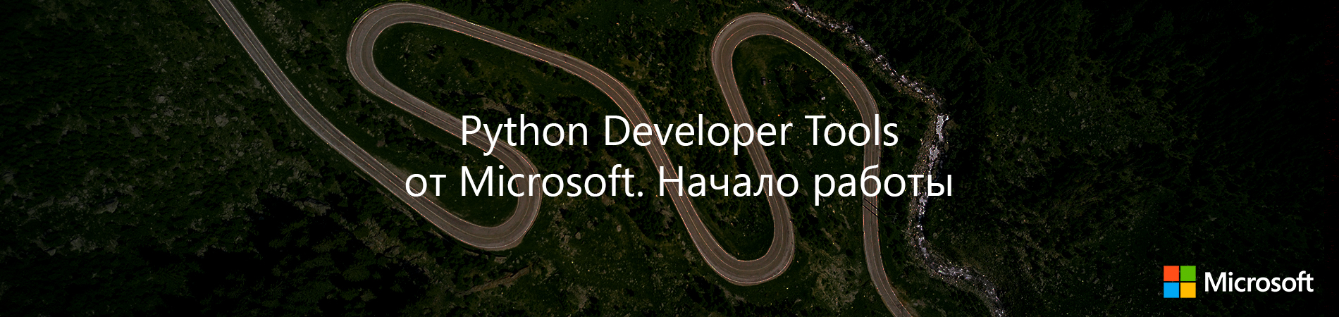 Python Developer Tools from Microsoft. The beginning of the work