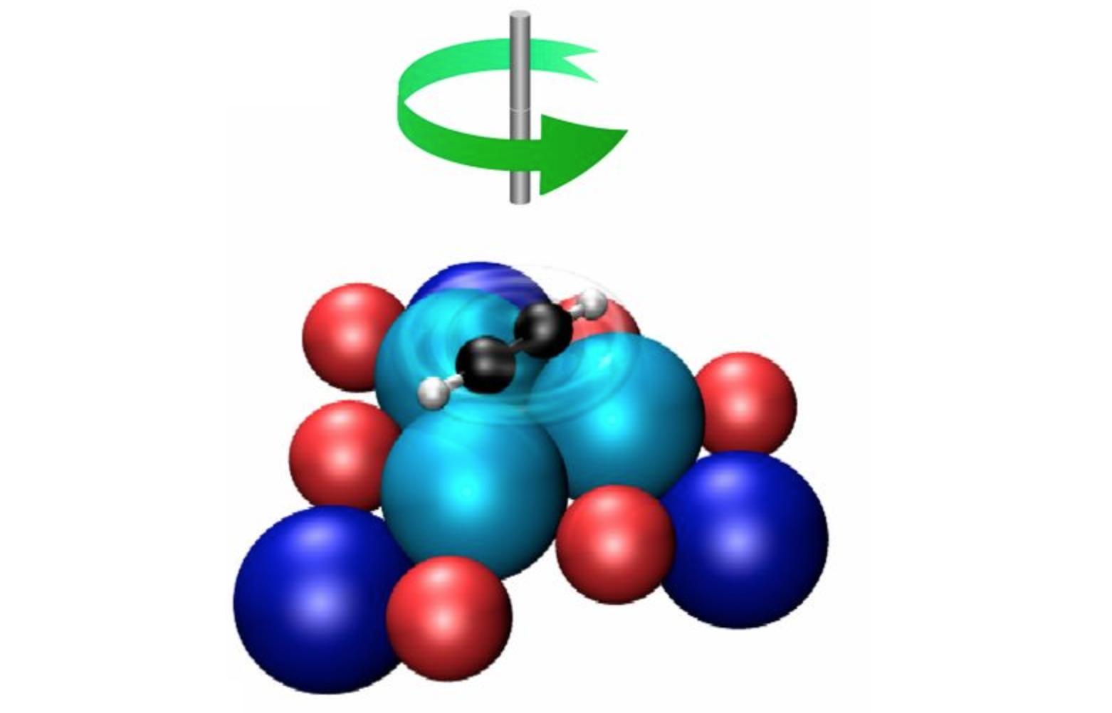 Карусель из 16 атомов самый маленький молекулярный ротор в мире