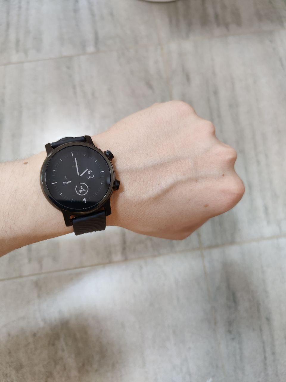 Обзор умных часов Moto 360 3rd Gen