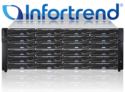 Overview and testing of Infortrend EonStor DS2024 2nd generation