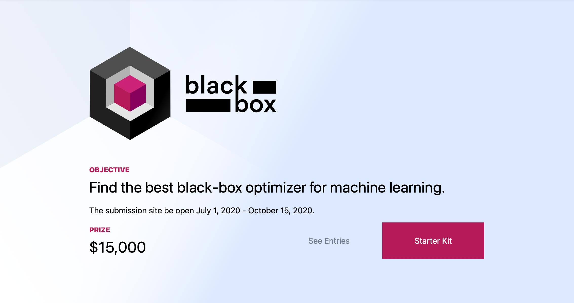 Black-Box Optimization Challenge, или как подбирать гиперпараметры для моделей