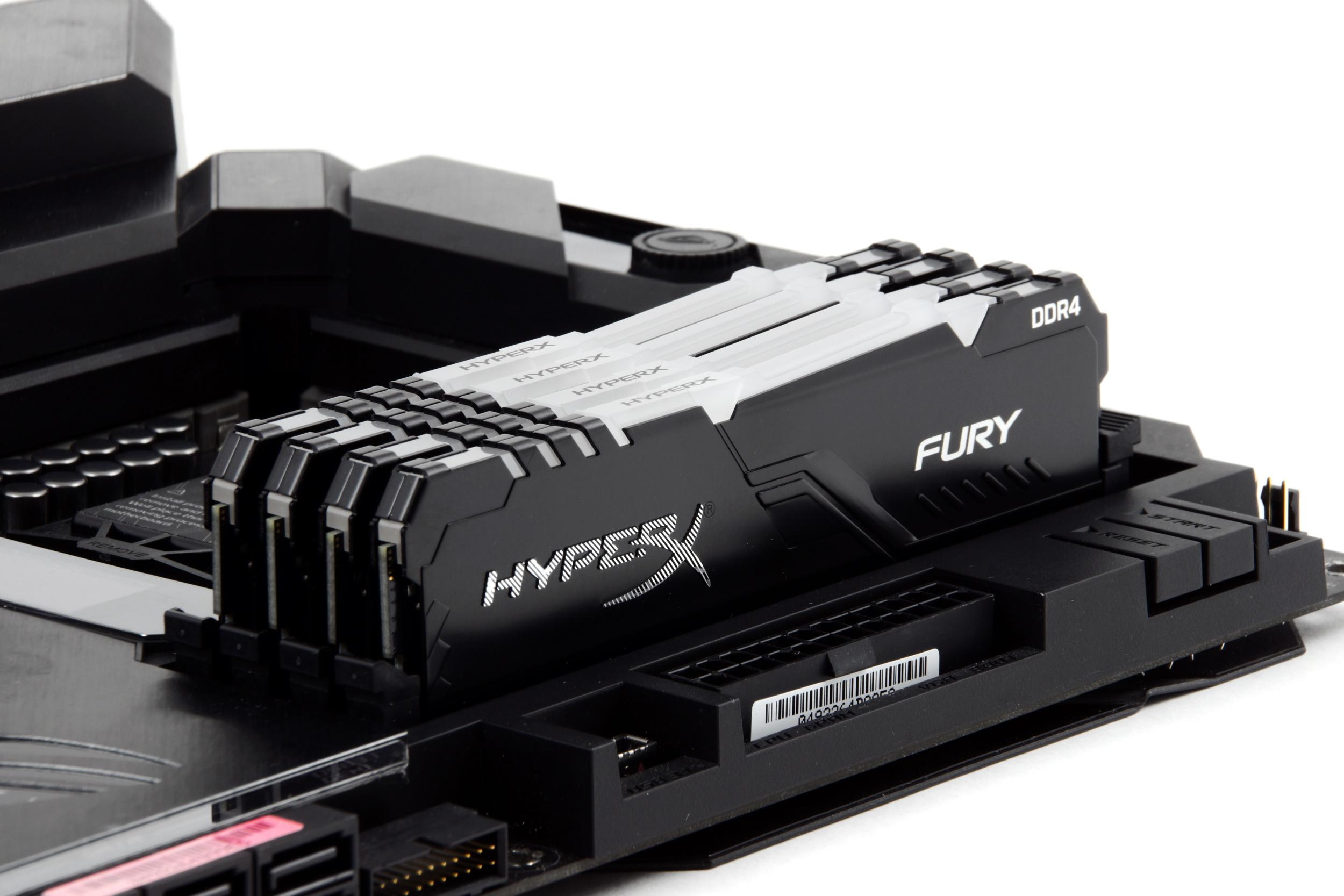 Заплати больше и живи спокойно. Особенности настройки обновленной памяти HyperX FURY DDR4 на платформе Intel Z390