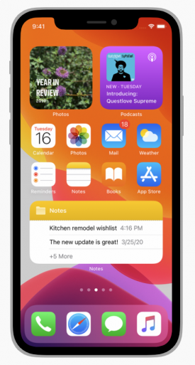 Делаем свой Widget в iOS 14