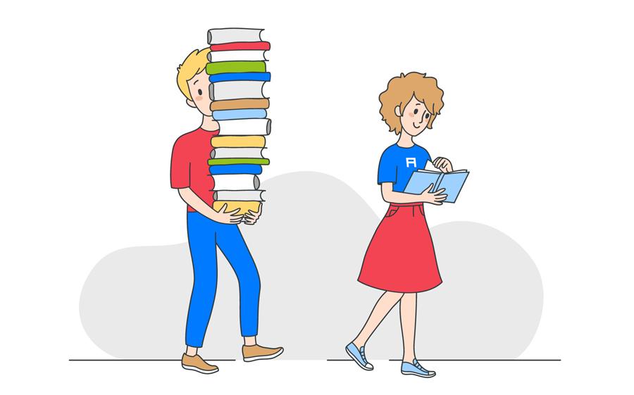 Ваш стиль чтения книг много говорит о вашем интеллекте — и вот ...