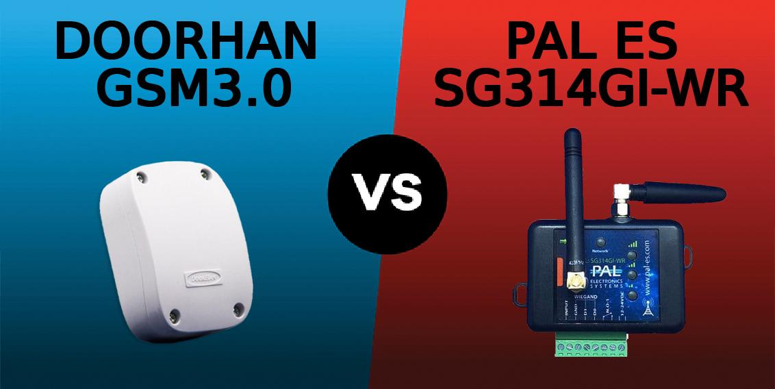 DoorHan 3.0 vs Pal Es, сравниваем GSM контроллеры