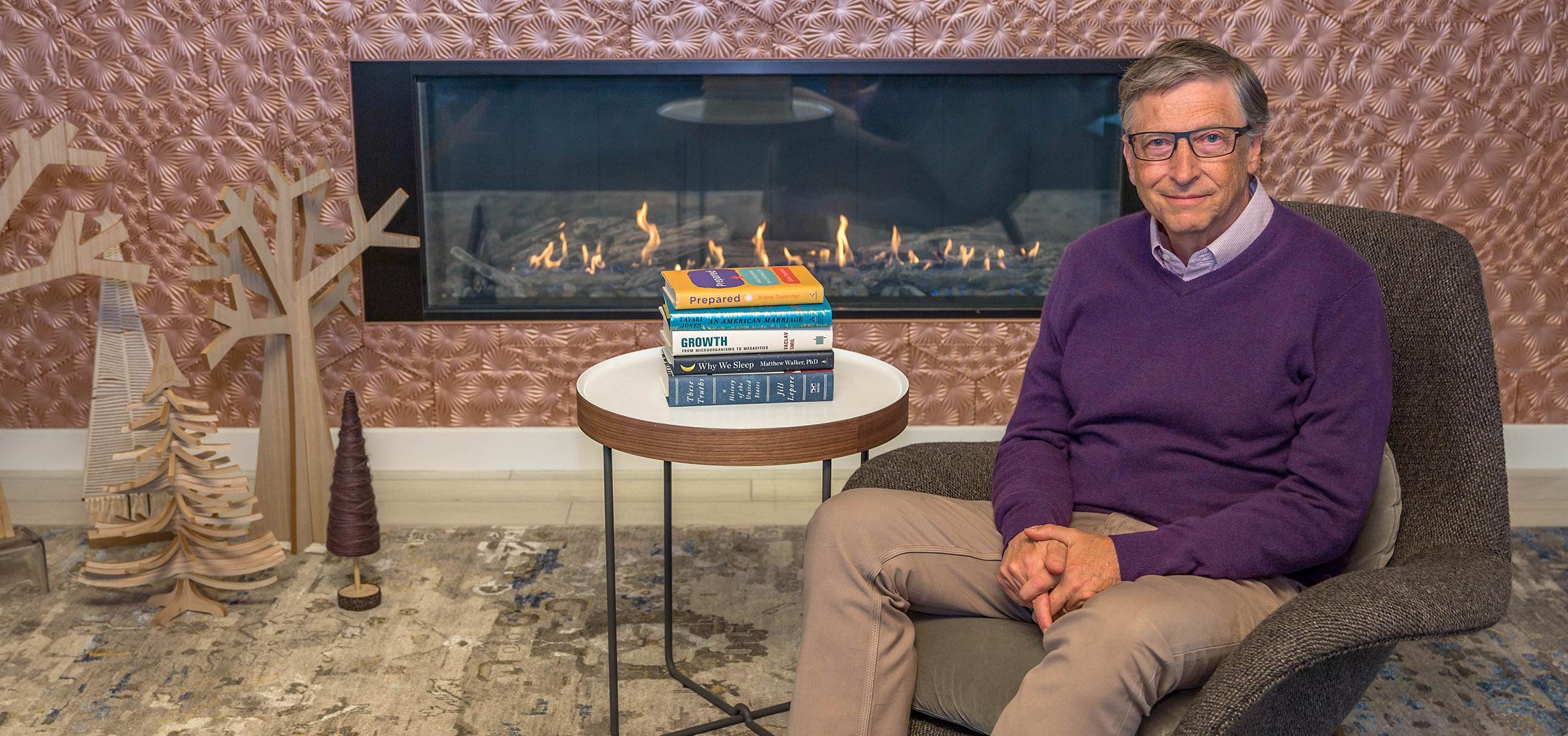 Традиционные 5 книг от Билла Гейтса