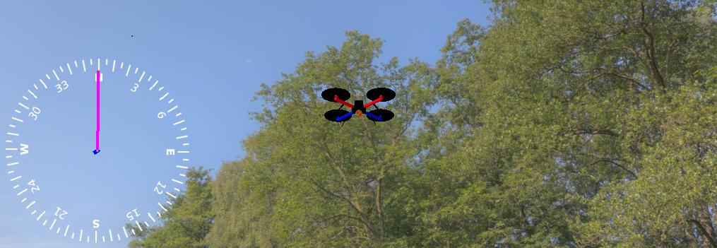 [Из песочницы] Вход в Aeronet: запуск автономного квадрокоптера в виртуальной среде