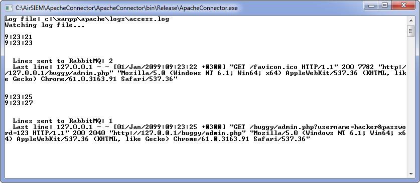 Проверка ApacheConnector