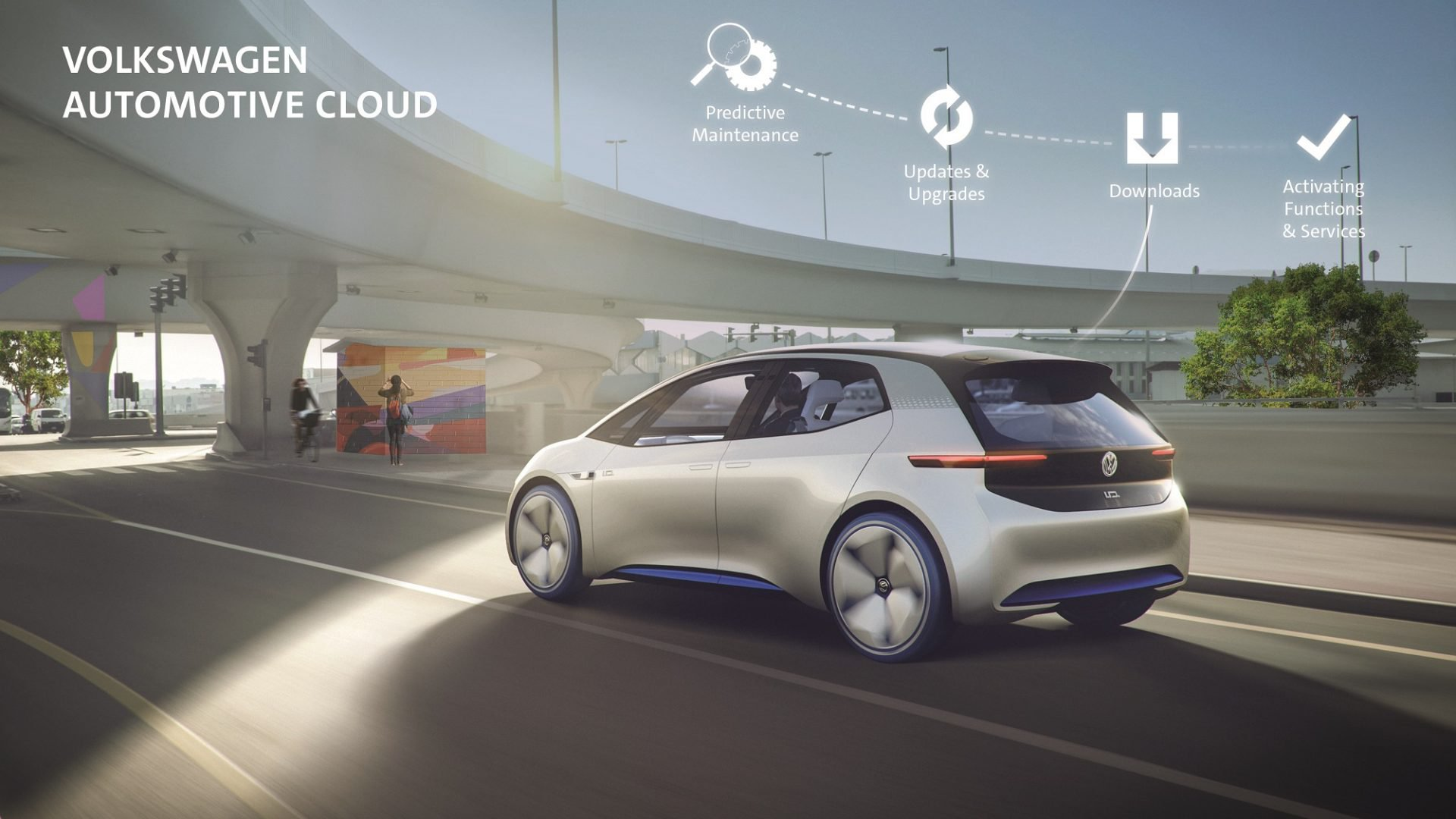 Volkswagen + Microsoft = Internet technology for a comfortable ride