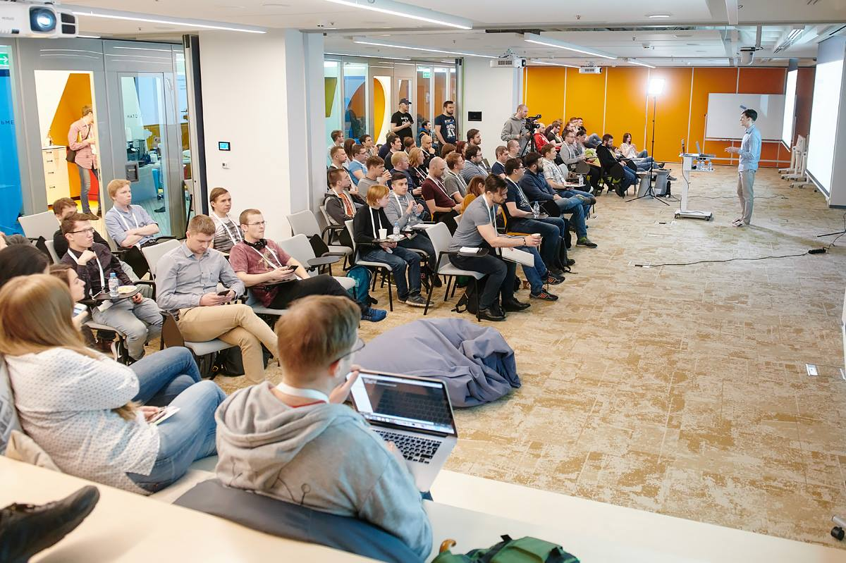 Backend United # 1. Vinaigrette - video, photo report, presentations and feedback of listeners