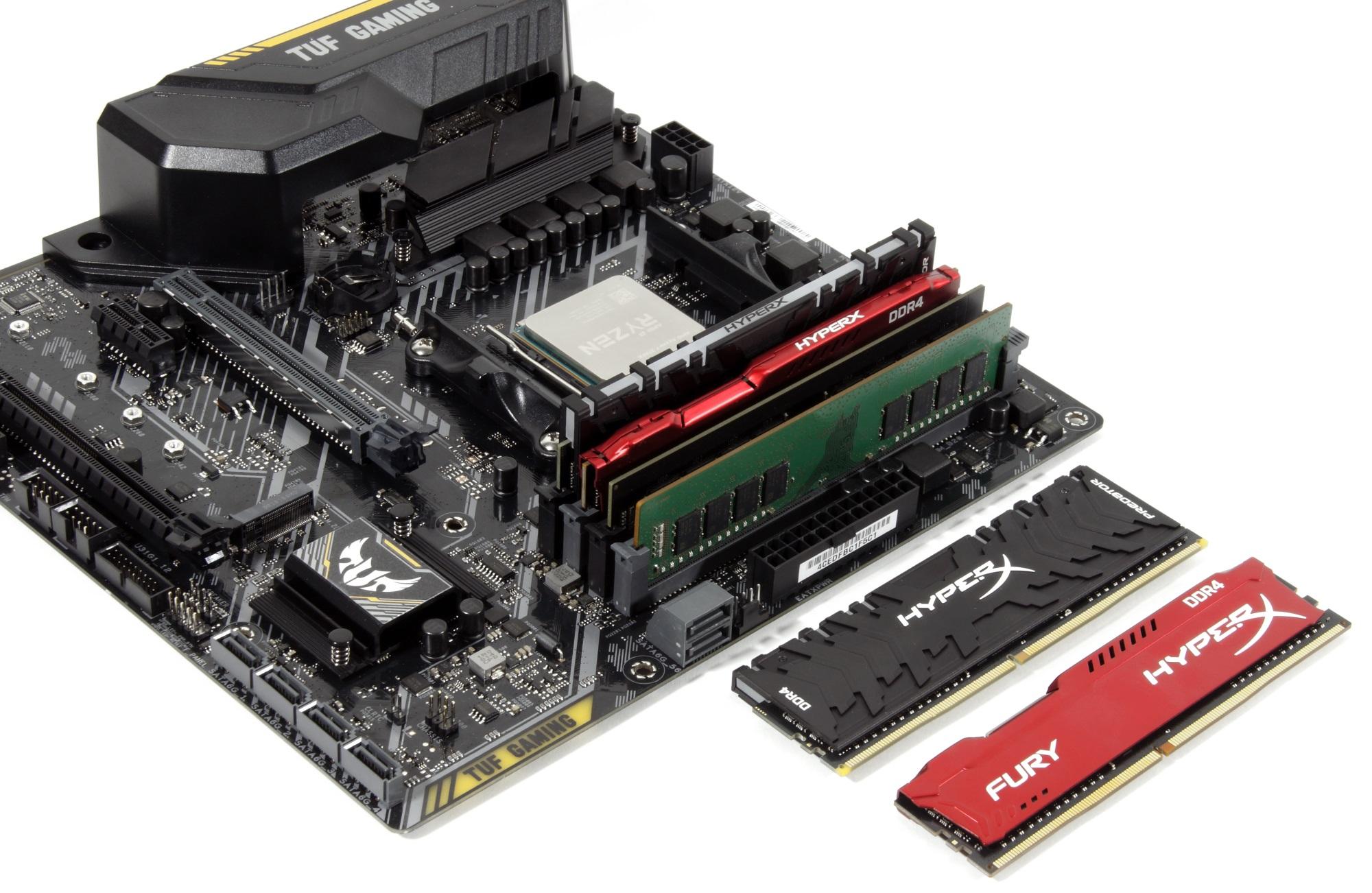 Скупой не платит дважды – настраиваем память на платформе AMD B450 и