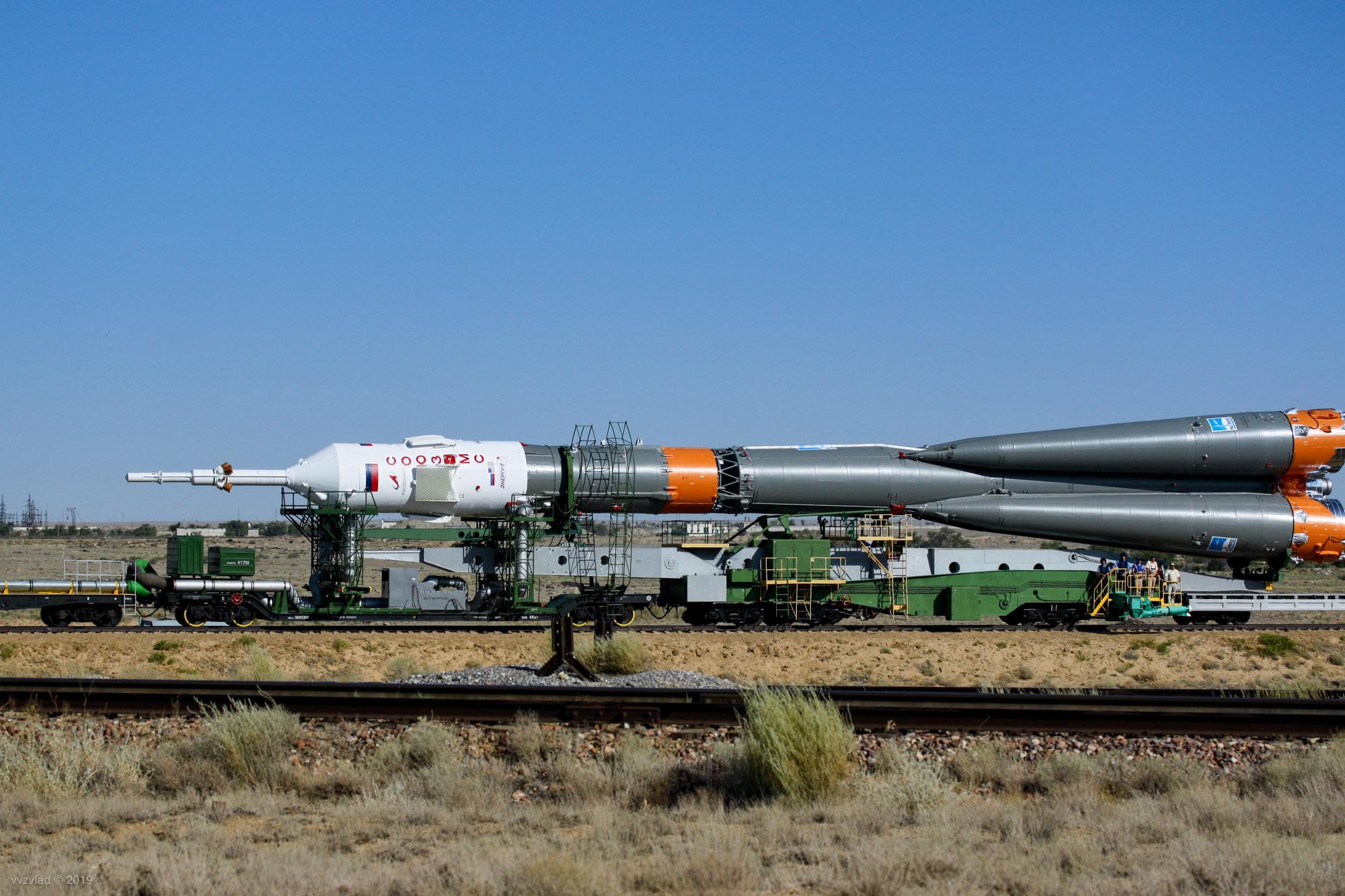 Байконур и Союз МС-13