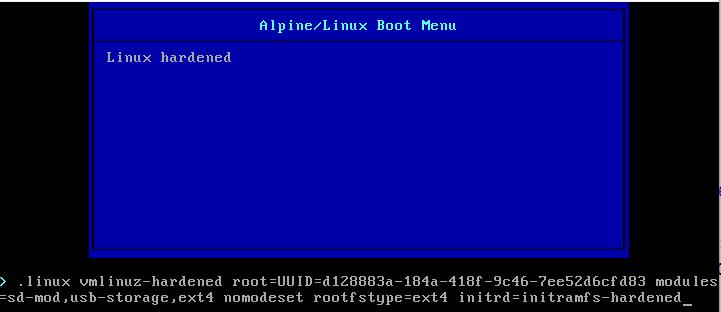 Запущенный bootloader