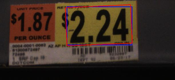 Алгоритм распознавание ценников, который работает даже на терминалах сбора данных