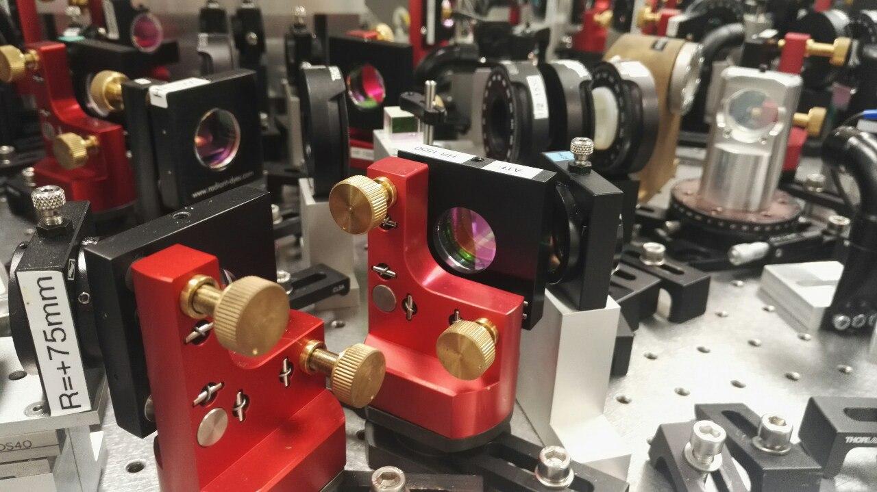 Лаборатория квантовой оптики сжатый свет и холодный маятник