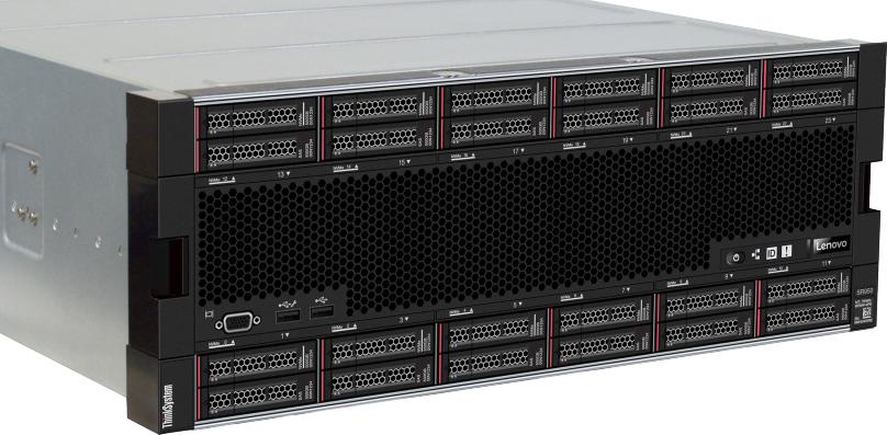 Обзор сервера Lenovo ThinkSystem SR950