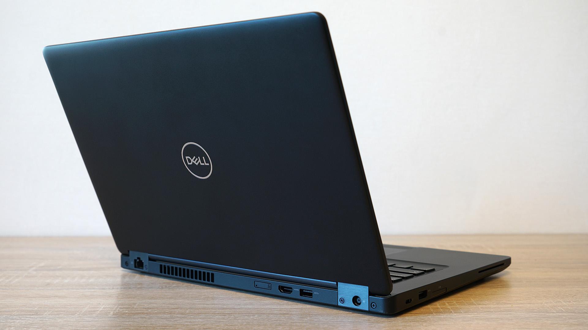 Dell Latitude 5491: строгий корпоративный ноутбук с мощным процессором