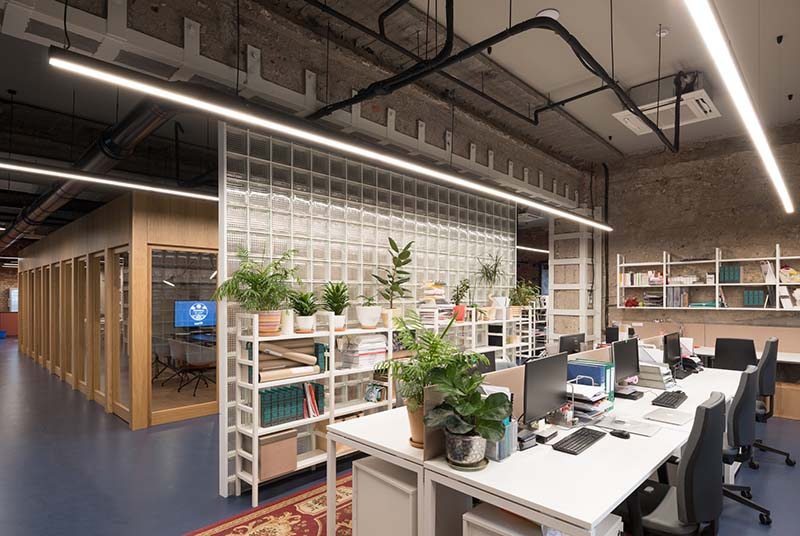 Workplace.  Open space