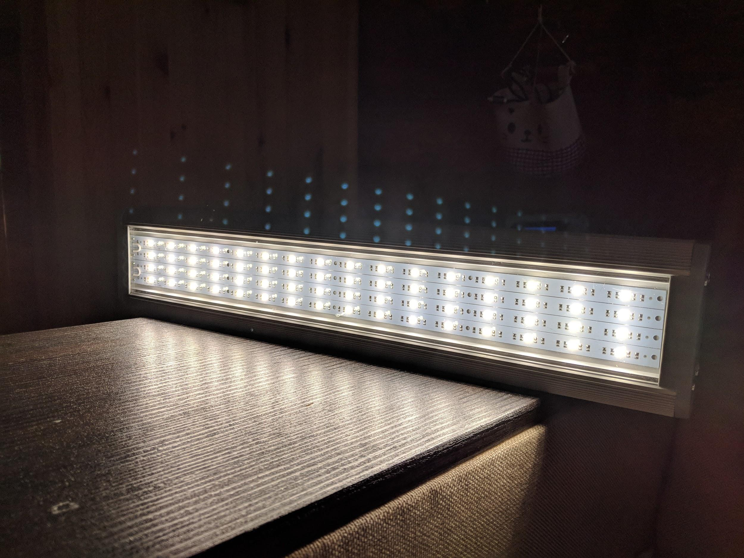 Industrial lamps from the domestic manufacturer Effeste with a good color rendering index