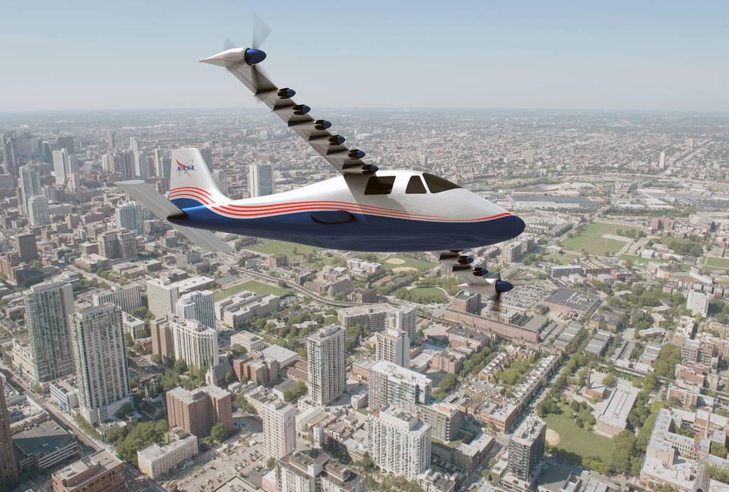 X-57 Maxwell от NASA первый боевой полет электросамолета запланирован на конец года