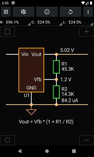 SEPIC, Vout, resistors