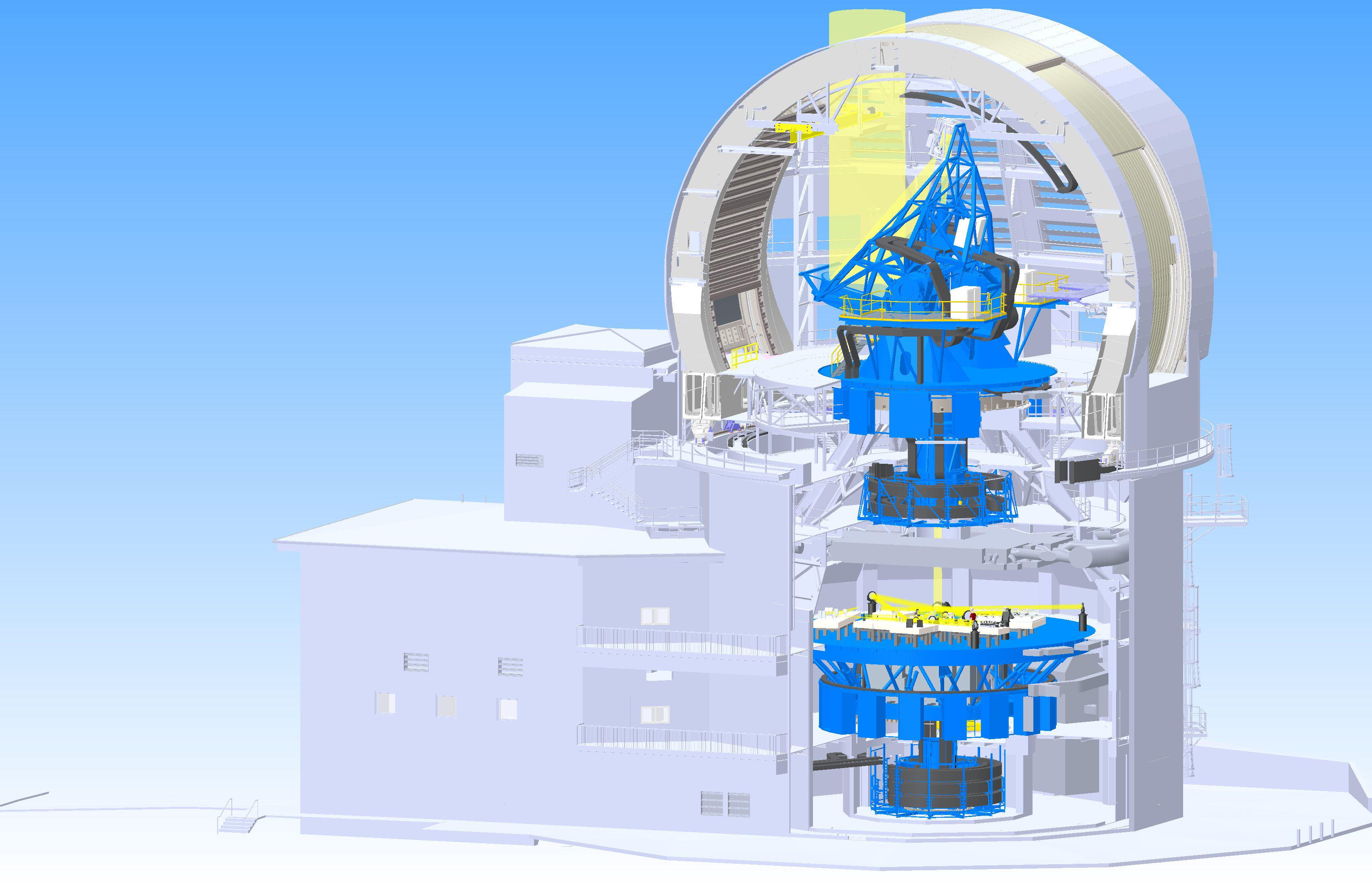 Солнечный телескоп Даниэля К. Иноуйе