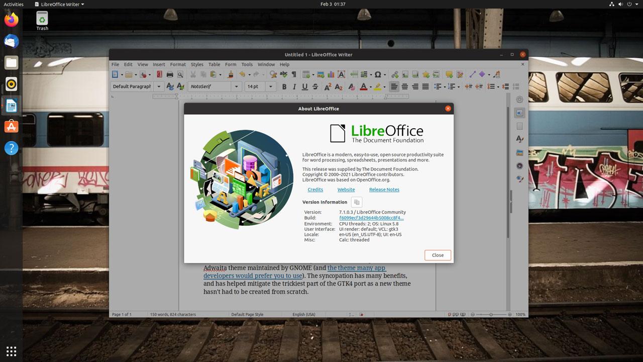 Обновленный LibreOffice 7.1 корпоративный пакет  отдельно, редакция для комьюнити  отдельно