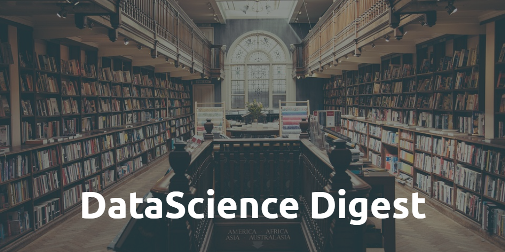 Data Science Digest (October 2019)