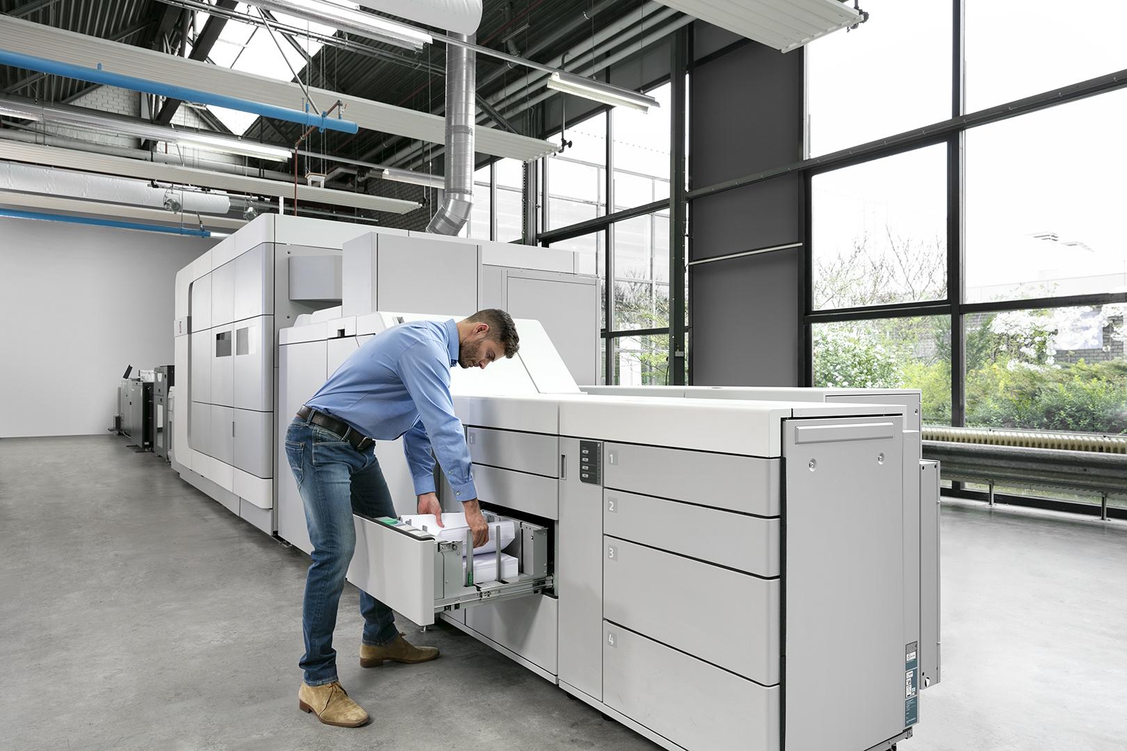 Обзор печатных машин с технологией Océ