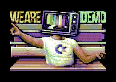 из демо 'We are demo' для Commodore 64, 2020 год)