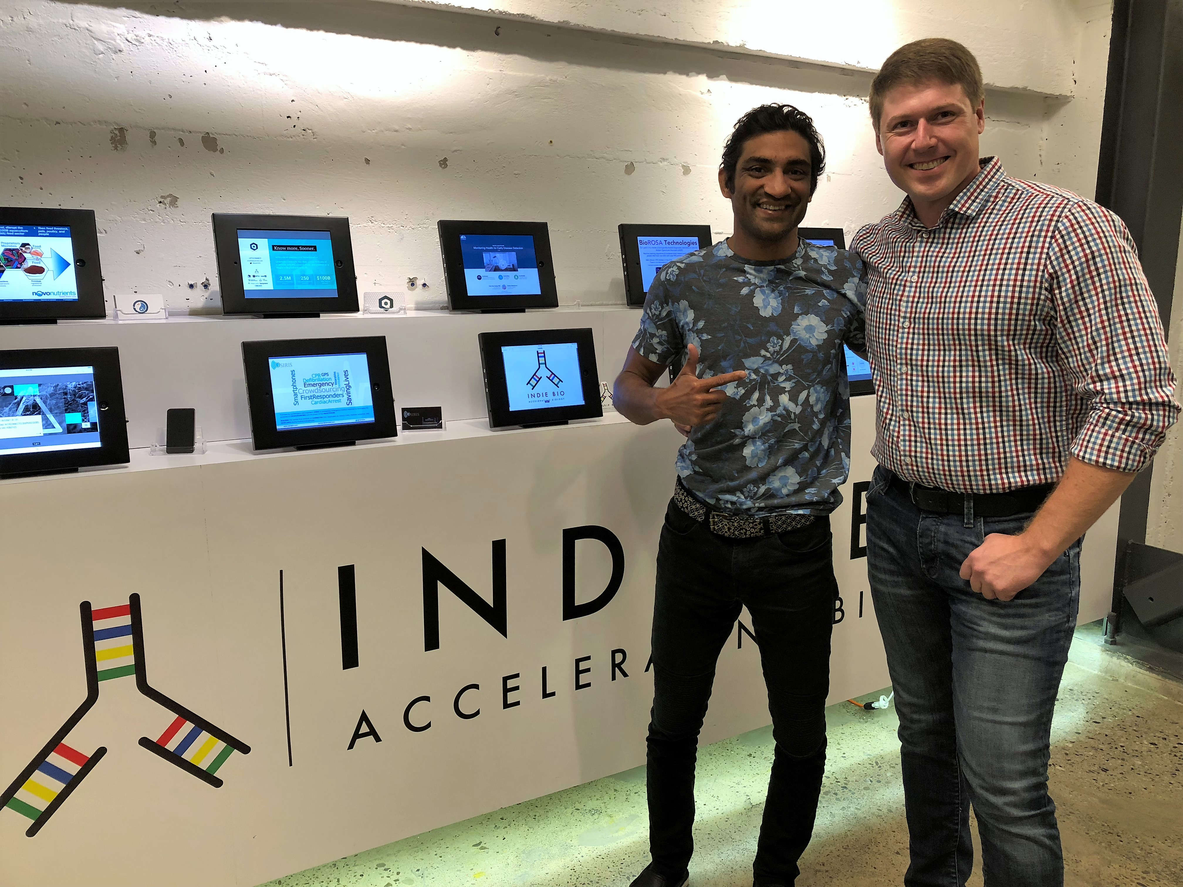 For the first time the Russian team was included in the largest scientific accelerator IndieBio