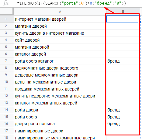 Работа с семантикой, ссылками и парсинг веб-страниц: 16 полезных формул Google Sheets для SEO-специалистов