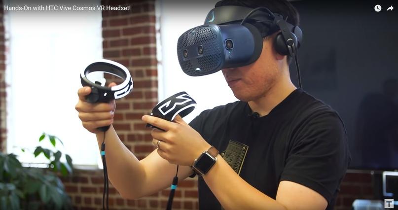 Vive Cosmos — обзор нового VR сета от HTC
