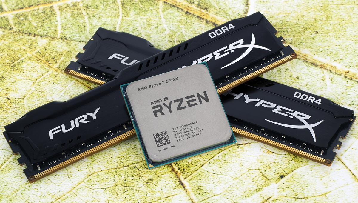 Обзор процессора Ryzen 7 2700X. Раскрываем потенциал флагманского 8-ядерника AMD при помощи памяти Kingston HyperX