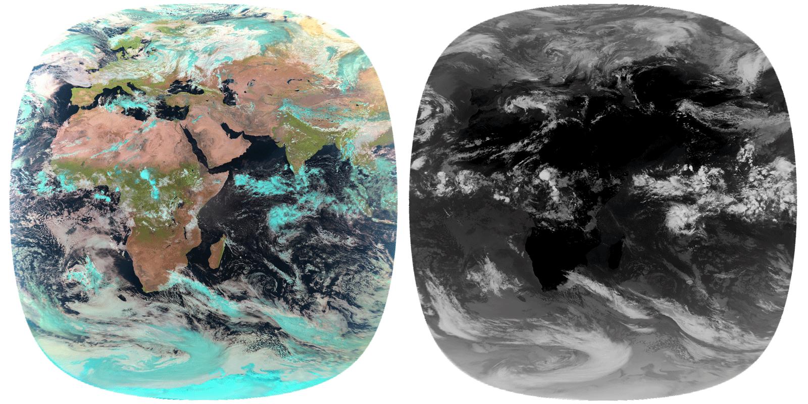Как Яндекс создал глобальный прогноз осадков с точностью до минут. Взгляд из космоса