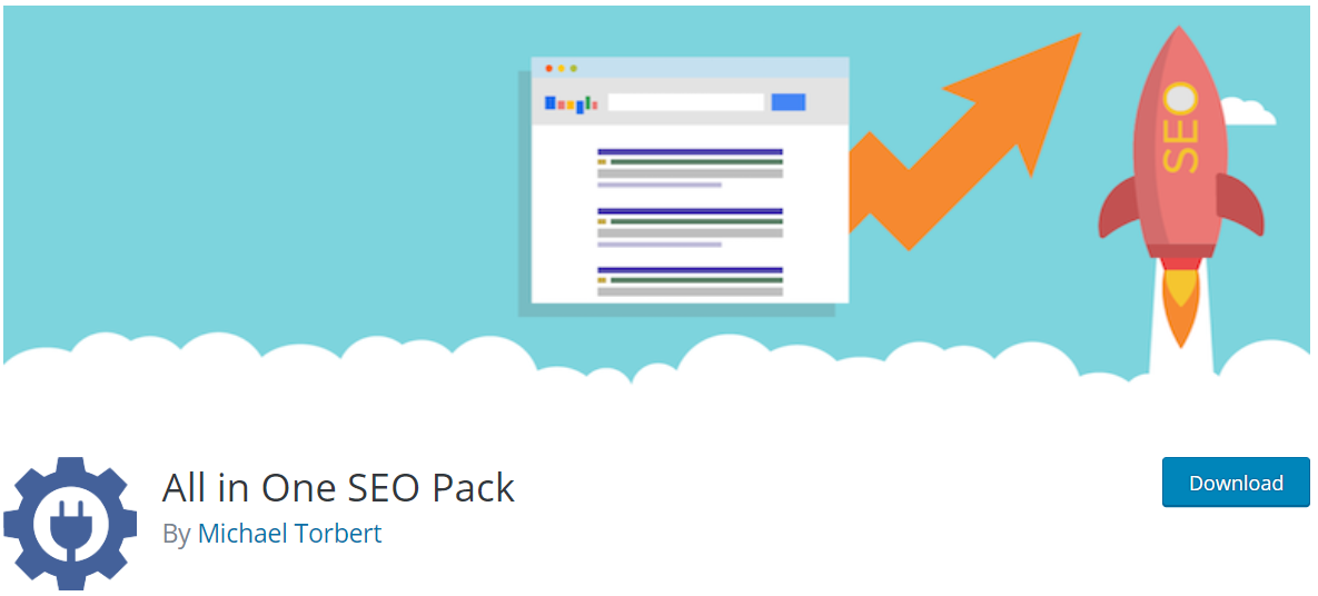 wordpress seo plugins 2019 - all in one seo pack