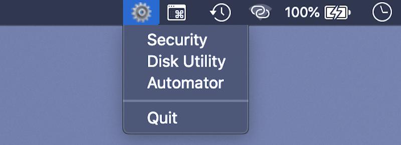 Чистим Dock и делаем приложение без xCode