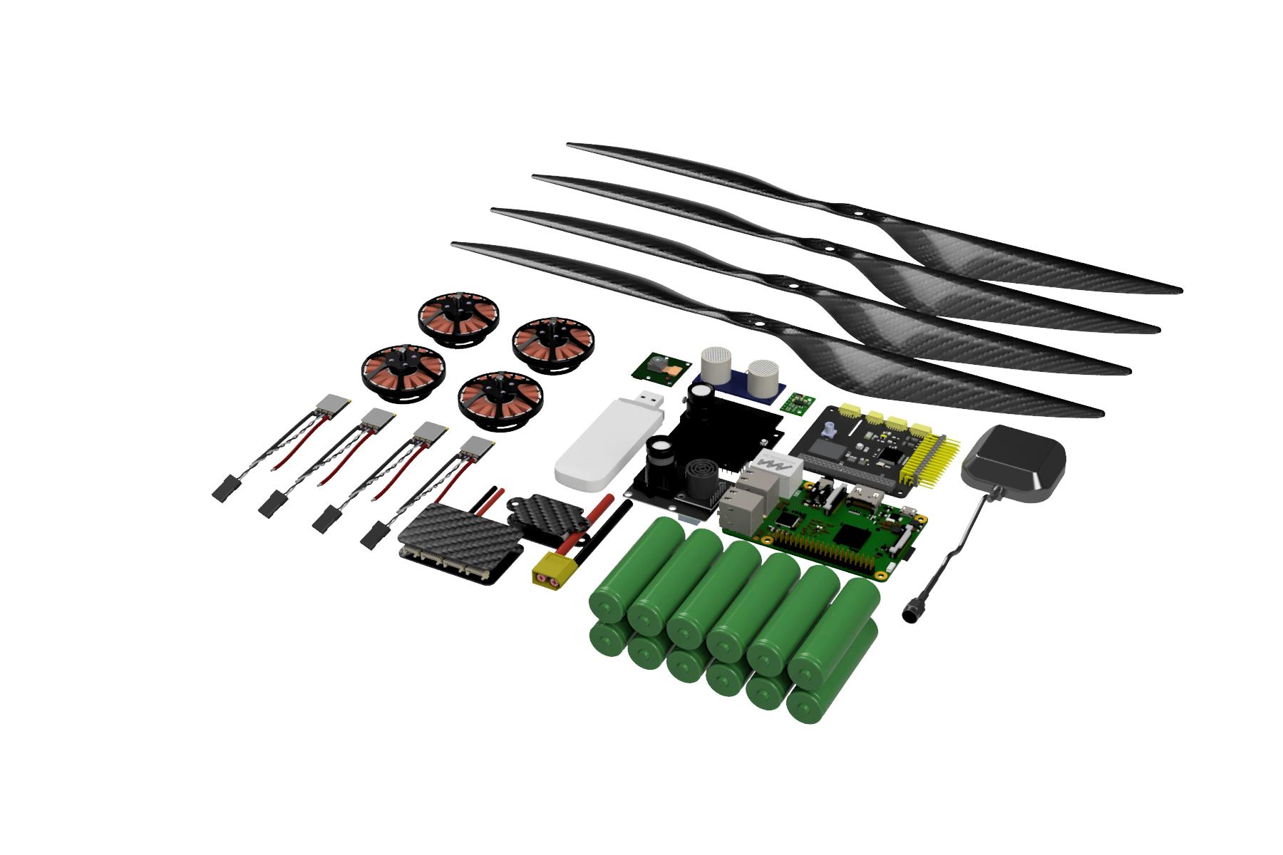 DIY автономный дрон с управлением через интернет. Часть 2 про ПО / Хабр