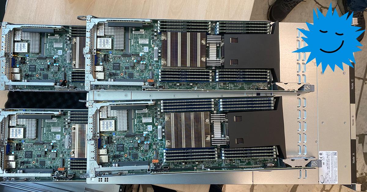 Самый мощный сервер Supermicro в Москве на основе AMD Epyc
