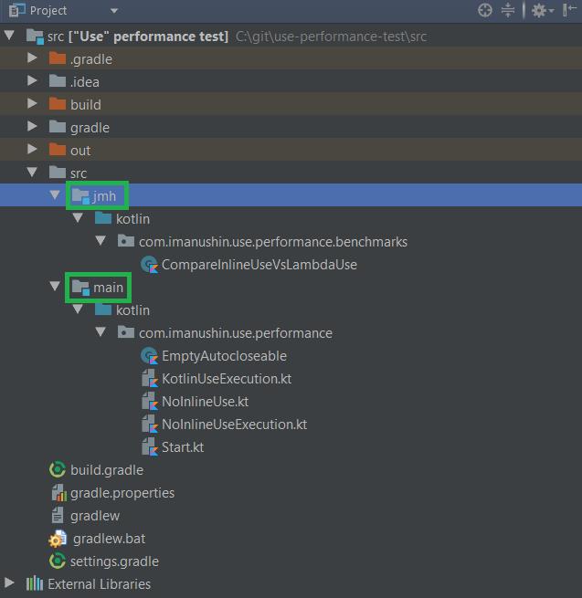JMH Source Set в IntelliJ Idea