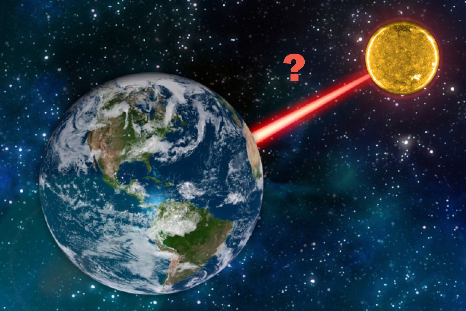 Как измерили расстояние до Солнца