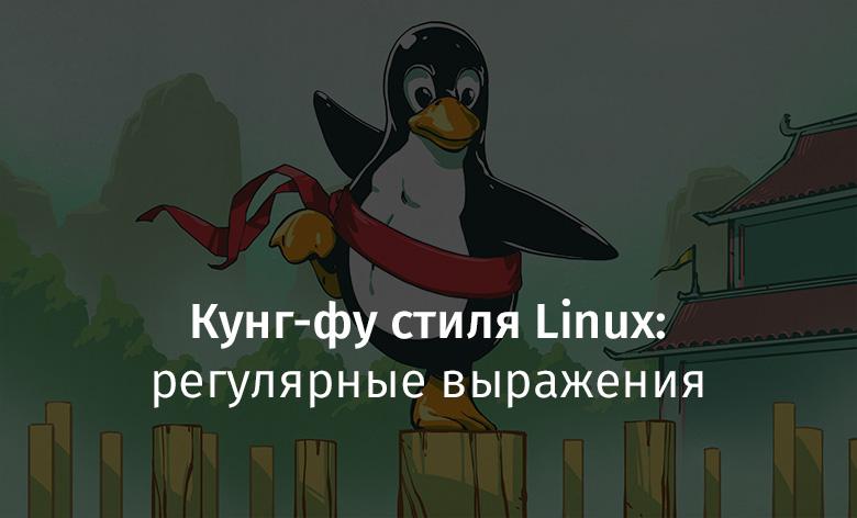 Перевод Кунг-фу стиля Linux регулярные выражения