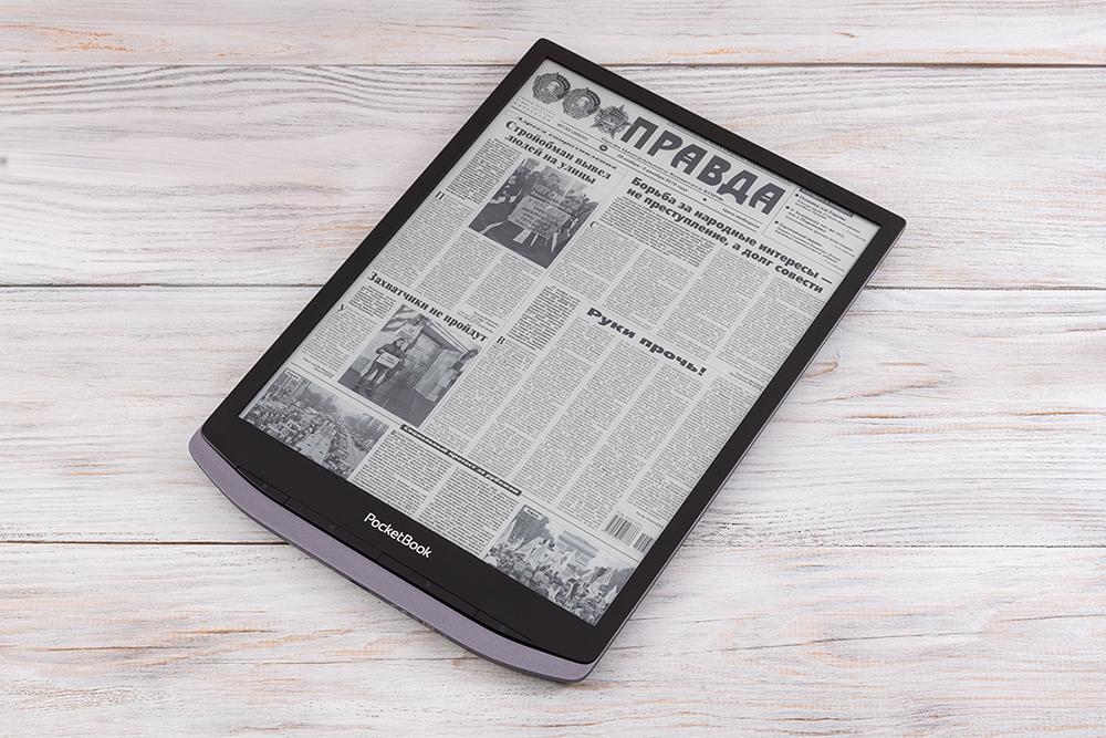 Обзор PocketBook X – огромного 10,3-дюймового ридера с экраном E Ink Carta Mobius и металлическим корпусом