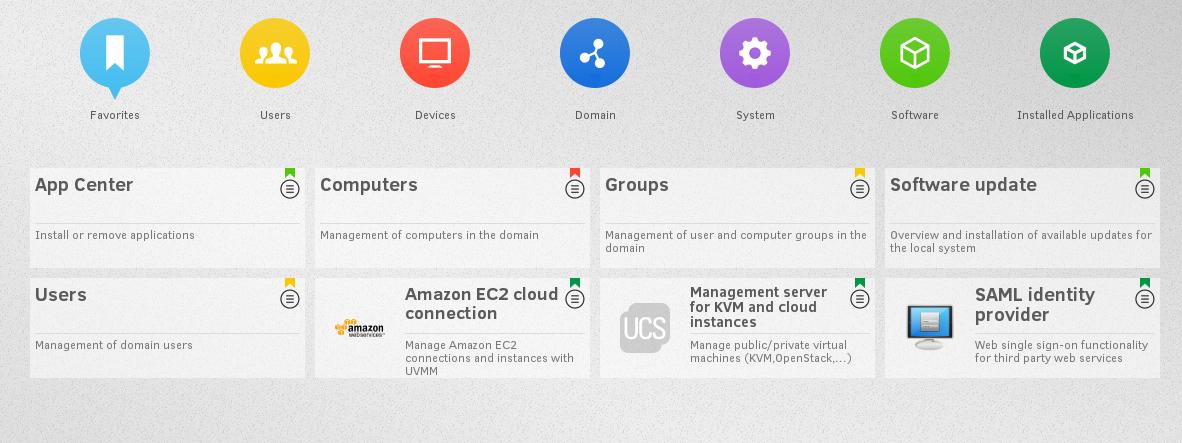 Univention Corporate Server (UCS) — установка простого и удобного LDAP сервера с web-панелью и его связка с Nextcloud