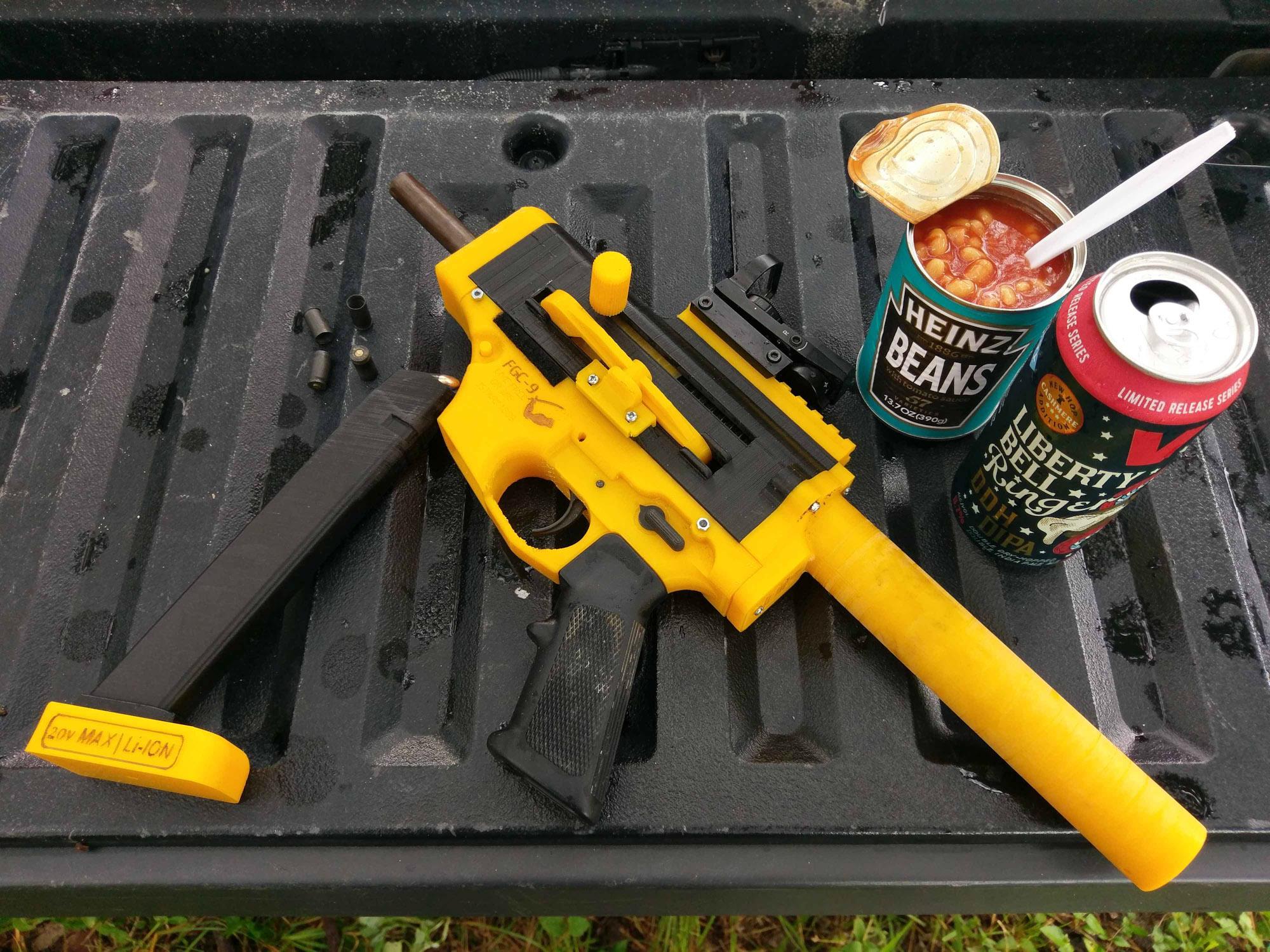 Огнестрельный DIY история и перспективы 3D-печатного оружия