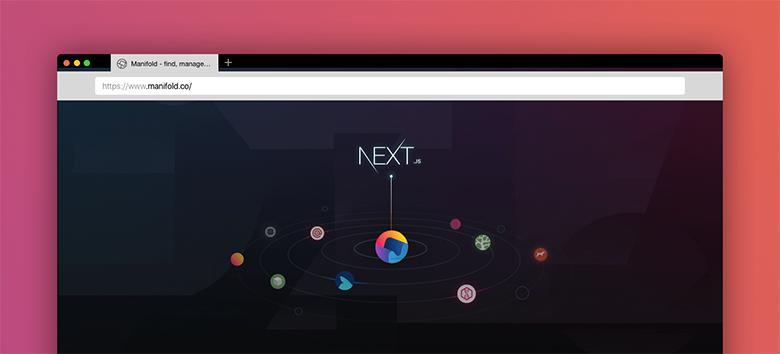 Переход на Next.js и ускорение загрузки домашней страницы manifold.co в 7.5 ...