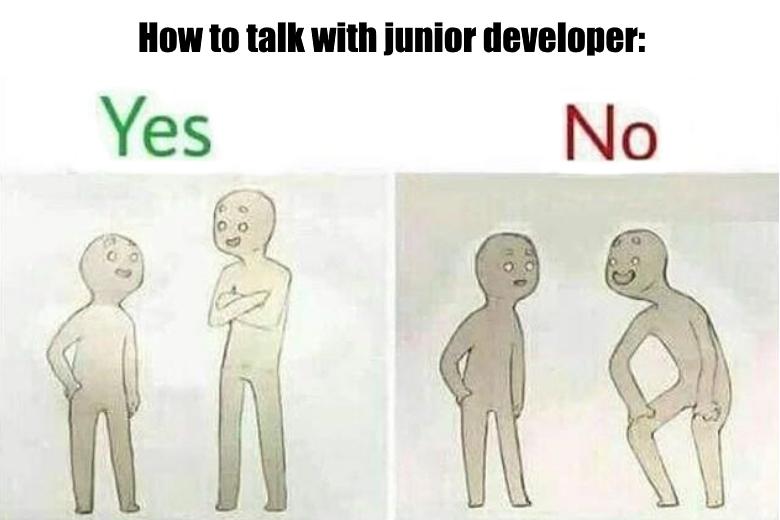 Как не испортить своего джуна