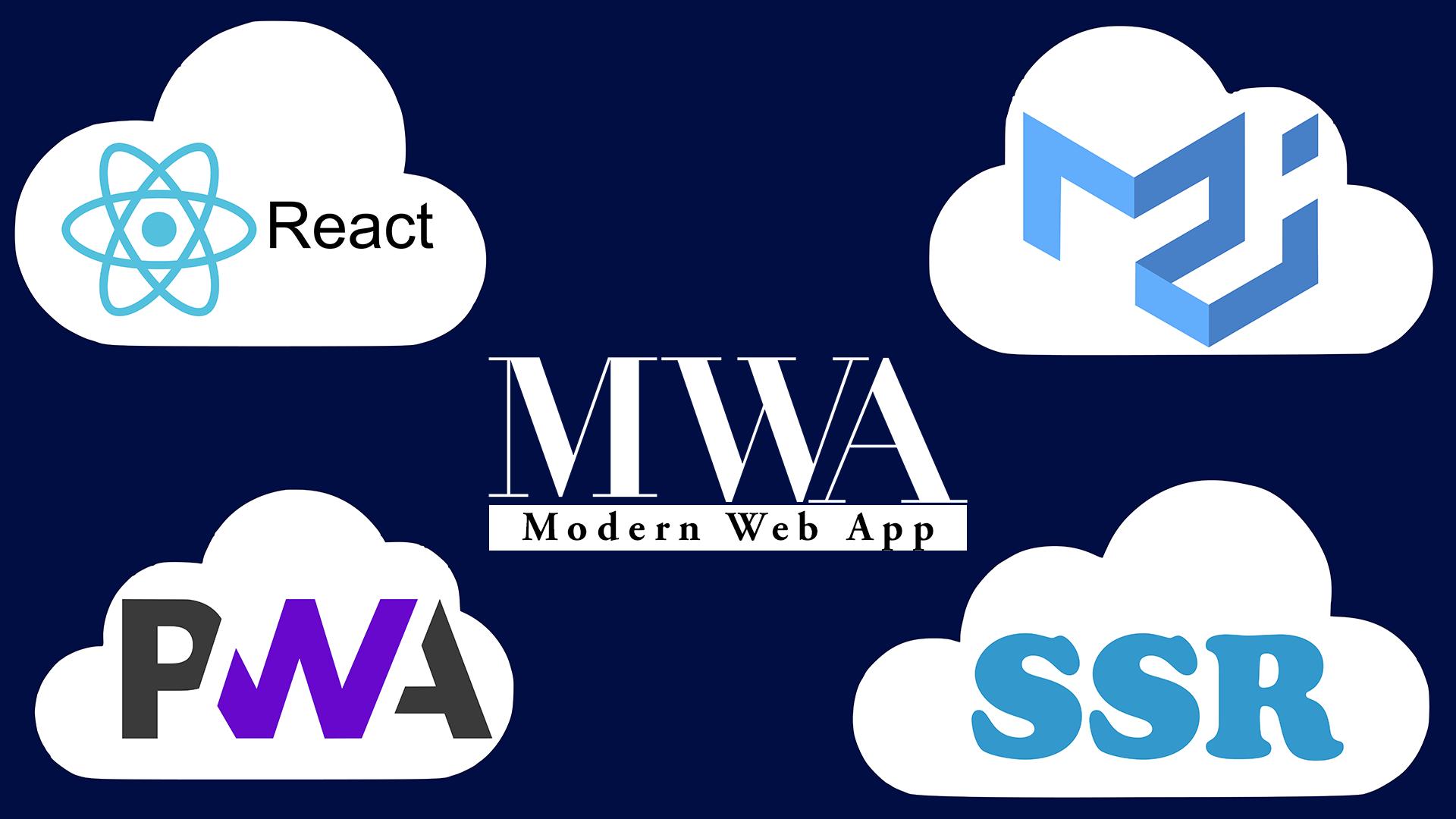 Перед вами — React Modern Web App