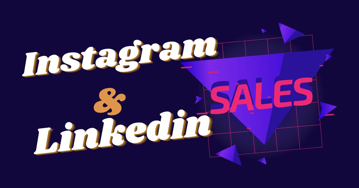 Специфика продаж в Linkedin и Instagram Для каких продуктов целесообразнее использовать каждую из платформ